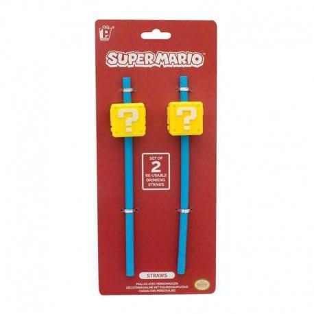 Pajita Reutilizable Super Mario