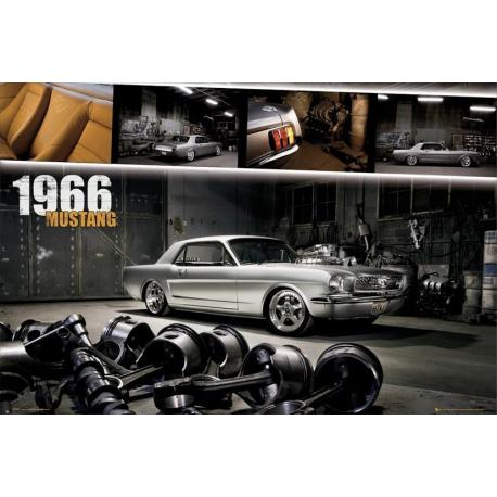 Poster Ford Mustang 1966