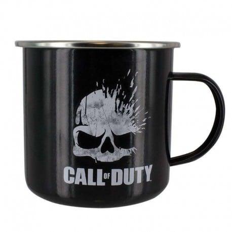 Taza Metalica Call Of Duty