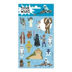 Set de Pegatinas Star Wars Papercut
