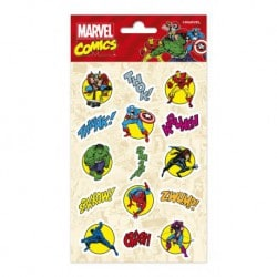 Set de Pegatinas Marvel Comics