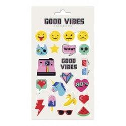 Set de Pegatinas Good Vibes