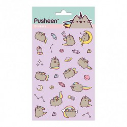 Set de Pegatinas Pusheenicorn
