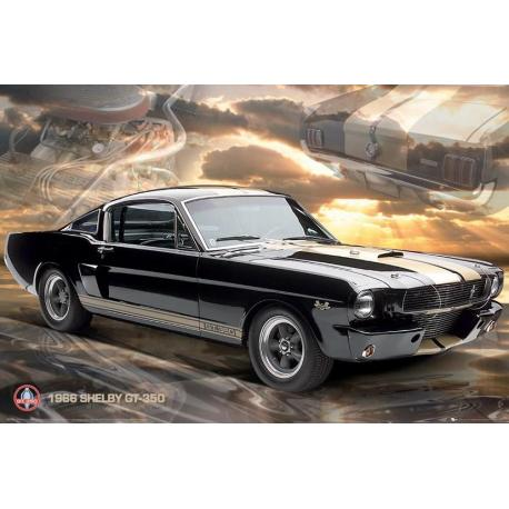 Poster Ford Shelby Mustang 66 Gt350