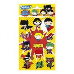 Set de Pegatinas Dc Comics Chibi