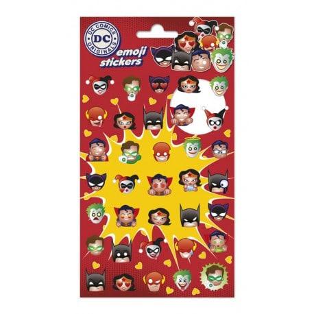 Set de Pegatinas Dc Comics Emoji