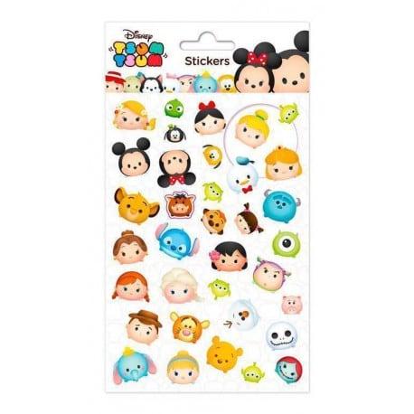 Set de Pegatinas Disney Tsum Tsum