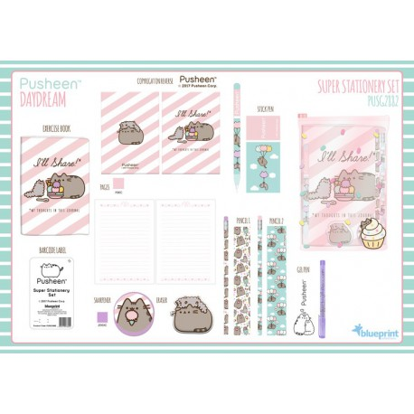 Super Set De Papeleria Pusheen