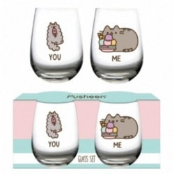Set 2 Vasos Pusheen