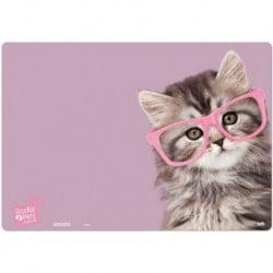 Vade Escolar Studio Pets Cat Glasses