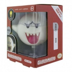 Lampara 3D Super Mario Boo