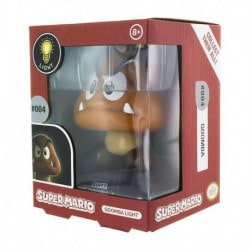 Lampara 3D Super Mario Goomba
