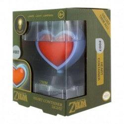 Lampara 3D Zelda Corazon