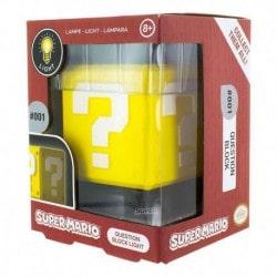 Lampara 3D Super Mario Bloque de interrogacion