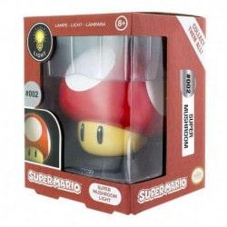 Lampara 3D Super Mario Super Seta