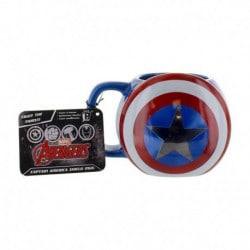 Taza Marvel Escudo Capitan America