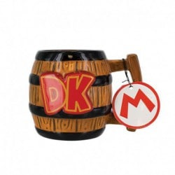 Taza 3D Super Mario Donkey Kong