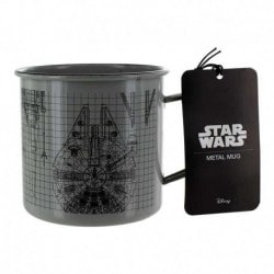 Taza Metalica Star Wars