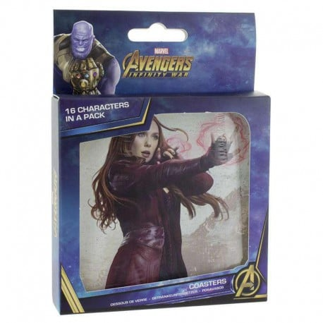 Posavasos 3D Lenticular Marvel Avengers Infinity War