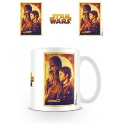 Taza Star Wars Han Solo And Chewie