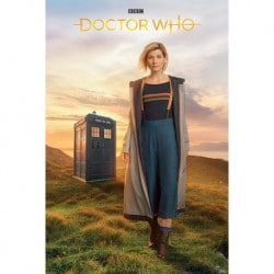 Poster Doctor Who Doctor Nº13