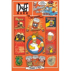 Poster The Simpsons Duff
