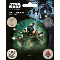 Pegatina Vinilo Star Wars Rogue One Rebel