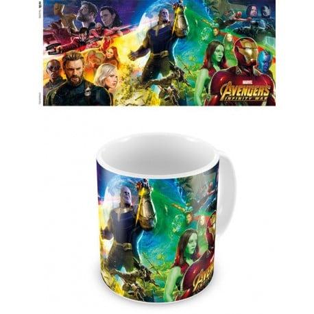 Taza Marvel Avengers Infinity Wars 2