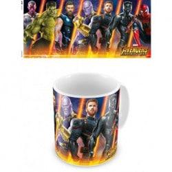 Taza Marvel Avengers Infinity Wars 3