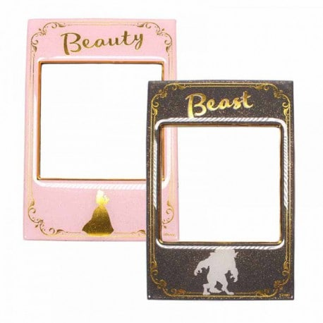 Set 2 Portafotos Magneticos Beauty & The Beast