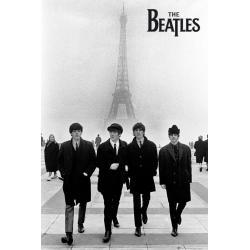 Poster The Beatles In Paris