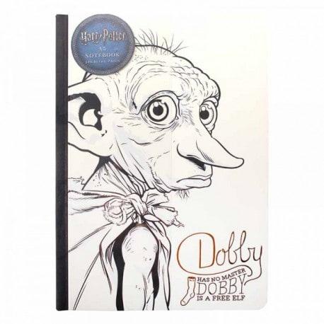 Cuaderno A5 Harry Potter Dobby