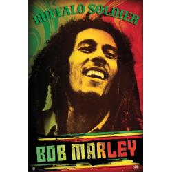 Poster Bob Marley Buffalo Soldier