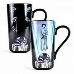 Taza Latte termica Star Wars Leia