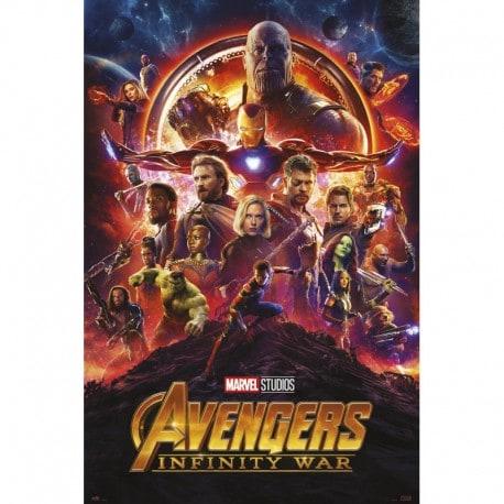 Poster Marvel Avengers Infinity War One Sheet