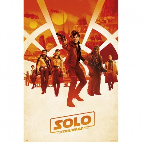 Poster Solo A Star Wars Story One Sheet