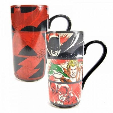 Taza Latte Termica Dc Comics Liga de la Justicia