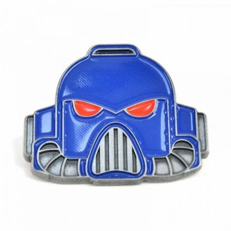 Pin Warhammer Space Marine Helmet