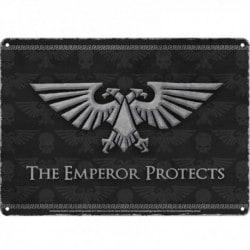 Placa Metalica Warhammer Emperor