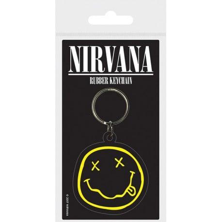 Llavero Nirvana Smiley