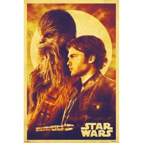 Poster Star Wars Solo Han & Chewie