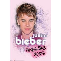Poster Justin Bieber Rosa
