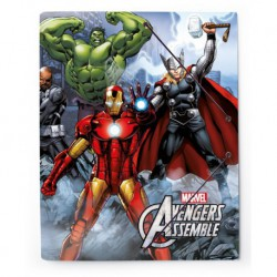 Carpeta Gomas A4 Polipropileno Marvel Avengers