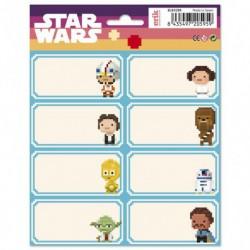 Etiquetas Escolares Star Wars VIII