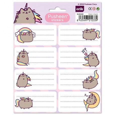 Etiquetas Escolares Pusheen The Cat 2