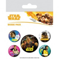 Pack Chapas Star Wars - Solo (personajes)