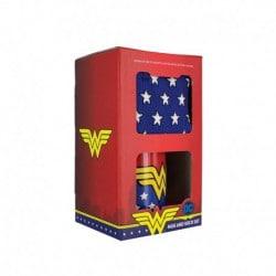 Set Taza y Calcetines Wonder Woman