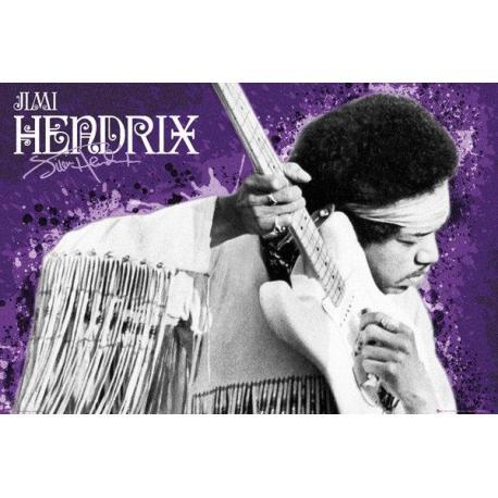 Poster Jimi Hendrix Purple