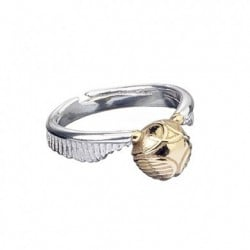 Anillo Acero Inoxidable Harry Potter Golden Snitch Talla M