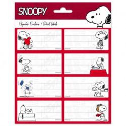 Etiquetas Escolares Snoopy